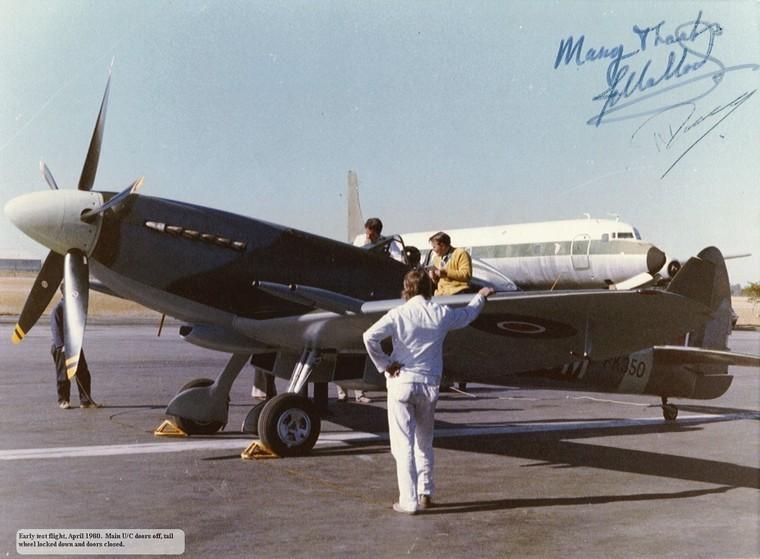 Pilot's Post - Malloch's Spitfire - The Restoration of