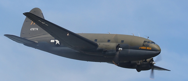 Pilot's Post - Curtiss C-46 Commando- Sleek airliner turned