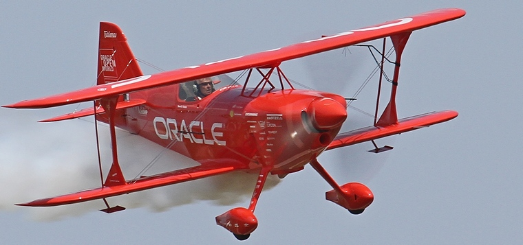 Pilot's Post - Sean D Tucker and the Oracle Challenger III
